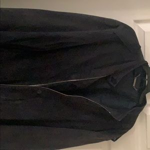 Versace collection bomber jacket (Suede)